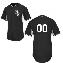 Chicago White Sox Authentic Style Personalized BP Black Jersey