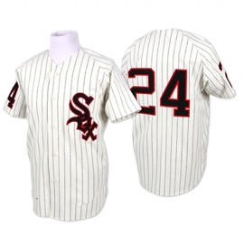 Chicago White Sox Legends Classic Home White Jersey #24 Early Wynn