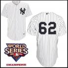 New York Yankees Authentic Style Home Pinstripe Jersey Joba Chamberlain #62