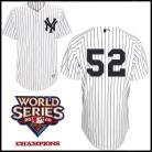 New York Yankees Authentic Style Home Pinstripe Jersey  CC Sabathia #52
