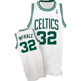 Boston Celtics Authentic Style Classic Home White Jersey #32 Kevin McHale