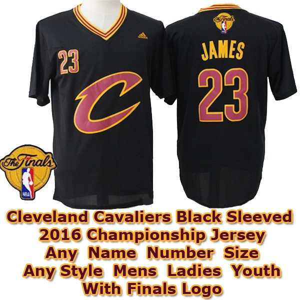 new arrival 81863 f7983 LeBron James #23 Cleveland Cavaliers Authentic Style Black ...