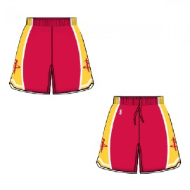 Mens Houston Rockets  Alt Red  Authentic Style On-Court Shorts