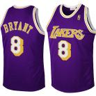 LA Lakers Throwback Authentic Style Jersey Purple #8 Kobe Bryant