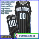 Orlando Magic Authentic Style Alt Black NBA Basketball Jersey