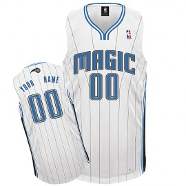 Orlando Magic Custom Authentic Style Home Jersey White
