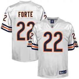 Chicago Bears NFL White Football Jersey #22 Matt Forte
