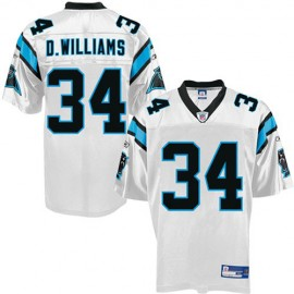 Carolina Panthers NFL White Football Jersey #34 DeAngelo Williams