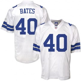 Dallas Cowboys NFL Legends White  Football Jersey #40 Bill Bates