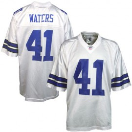 Dallas Cowboys NFL Legends White  Football Jersey #41 Charlie Waters