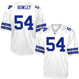 Dallas Cowboys NFL Legends White  Football Jersey  #54 Chuck Howley