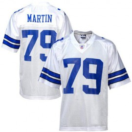 Dallas Cowboys NFL Legends White  Football Jersey #79 Harvey Martin