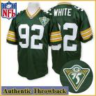 Green Bay Packers Authentic Style Throwback Green Jersey #92 Reggie White