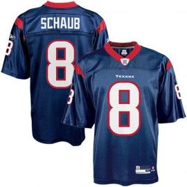 Houston Texans NFL Navy Blue Football Jersey #8 Matt Schaub