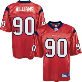 Houston Texans NFL Red Alt Football Jersey #90 Mario Williams