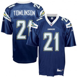 San Diego Chargers NFL Navy Blue Football Jersey #21 LaDainian Tomlinson