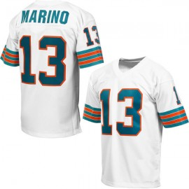 Miami Dolphins NFL Authentic White Football Jersey #13 Dan Marino