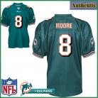Miami Dolphins NFL Authentic Green Football Jersey #8 Matt Moore