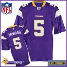 Minnesota Vikings NFL Authentic Purple Football Jersey #5 Donovan McNabb
