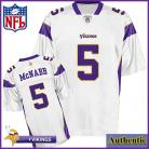Minnesota Vikings NFL Authentic White Football Jersey #5 Donovan McNabb