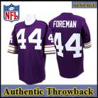 Minnesota Vikings Authentic Style Throwback Purple Jersey #44 Chuck Foreman