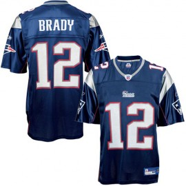 New England Patriots NFL Navy Football Jersey #12 Tom Brady
