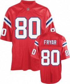 New England Patriots NFL Throwback Football Jersey #80 Irving Fryar