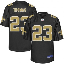 New Orleans Saints NFL Black Football Jersey #23 Pierre Thomas
