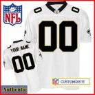 New Orleans Saints RBK Style Authentic White Jersey (Pick A Player)
