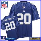 New York Giants NFL Authentic Blue Football Jersey #20 Prince Amukamara