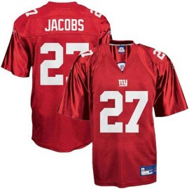 New York Giants NFL Red Alt Football Jersey #27 Brandon Jacobs