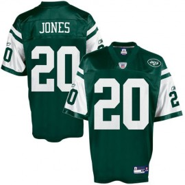 New York Jets NFL Green Football Jersey #20 Thomas Jones