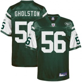 New York Jets NFL Green Football Jersey #56 Vernon Gholston