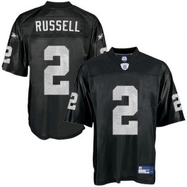 Oakland Raiders NFL Black Football Jersey #2 JaMarcus Russell