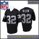 LA Raiders Authentic Style Throwback Black Jersey #32 Marcus Allen