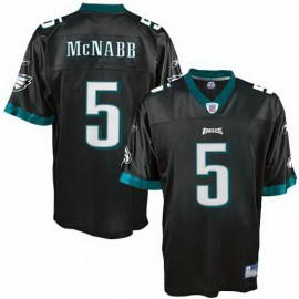 Philadelphia Eagles NFL Black Alt Football Jersey #5 Donovan McNabb