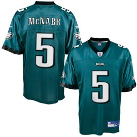 Philadelphia Eagles NFL Green Football Jersey #5 Donovan McNabb