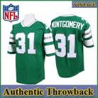 Philadelphia Eagles Authentic  Throwback Green Jersey #31 Wilbert Montgomery