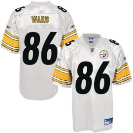 Pittsburgh Steelers NFL White Football Jersey #86 Hines Ward