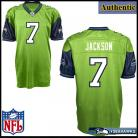 Seattle Seahawks NFL Authentic Alt Green Football Jersey #7 Tarvaris Jackson