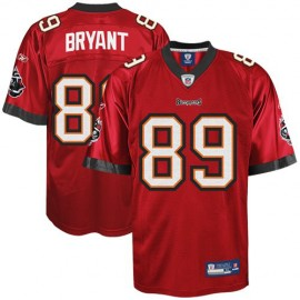 Tampa Bay Buccaneers NFL Red Football Jersey #89 Antonio Bryant