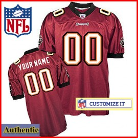 Tampa Bay Buccaneers RBK Style Authentic Home Youth Jersey