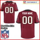 Tampa Bay Buccaneers Nike Elite Team Color Red Jersey (Pick A Name)
