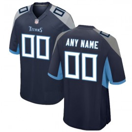 Tennessee Titans Nike Elite Style T21 Home Blue Jersey (Pick A Name)