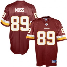 Washington Redskins NFL Burgundy Football Jersey #89 Santana Moss