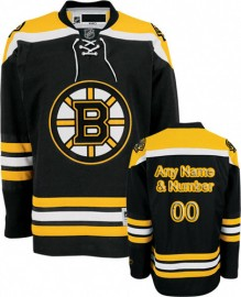 Boston Bruins NHL Premium Black Hockey Jersey (Select a Player)