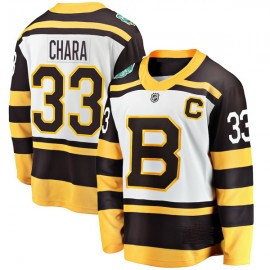 Boston Bruins 2019 Winter Classic Mens Black Jersey  33 Zdeno Chara  or Any Name Number