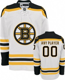 Boston Bruins NHL Premium White Hockey Jersey (Select a Player)