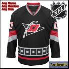 Carolina Hurricanes NHL Authentic Style Third Black Hockey Game Jersey
