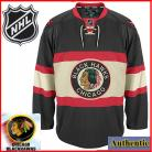 Chicago Blackhawks Authentic Style Black Third Jersey (Customized or Blank)